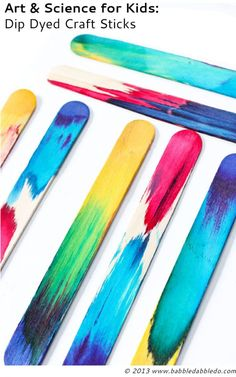 Find out all the amazing activities your kids can do with craft sticks this summer.