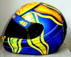 Valentino Rossi Helmet, Vr46, Helmets, Cars And Motorcycles, Pictures, Custom Helmets, Ships, Motorcycles, Hard Hats