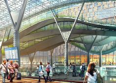 Iconic Transportation Hub by Parsons Brinckerhoff
