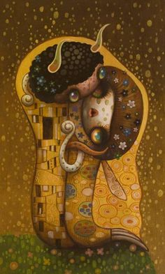 The Kiss by Yoko D'Holbachie