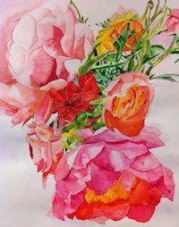 watercolor by Joye Schwartz