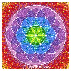 Rainbow Flower of Life by Elspeth McLean #sacredgeometry #mandala #rainbow --> Great tools for light-workers.. Flower of Life T-Shirts, V-necks, Sweaters, Hoodies & More ONLY 13$ EACH! LIMITED TIME CLICK ON THE PICTURE