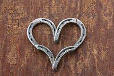 Country Home Decor Horseshoe Heart Horseshoe by RusticandCountry
