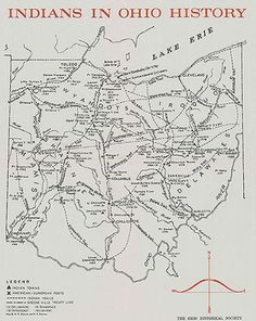 American Indians in Ohio North American Indian Tribes, Native American Beauty, Native American History, Native American Indians, Native Americans, Shawnee Indians, Ohio Map, Historical Maps, Steubenville Ohio
