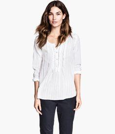 H&M Blusa de algodón $399