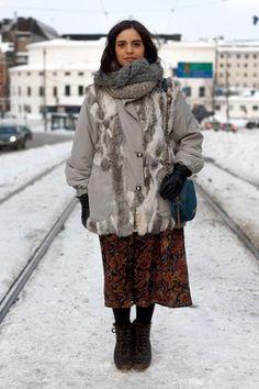 mature street style winter - Google zoeken