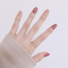 Endearing nails designs ideas that make you want to copy 10 - Endearing nail. - Jimmi Endearing nails designs ideas that make you want to copy 10 – Endearing nails designs ideas that make you want to copy 10 – - Korean Nail Art, Korean Nails, Minimalist Nails, Nail Swag, Perfect Nails, Gorgeous Nails, Cute Acrylic Nails, Cute Nails, Hair And Nails