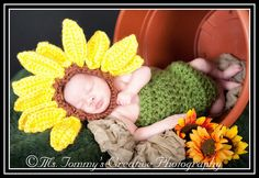 Another super cute sunflower hat!