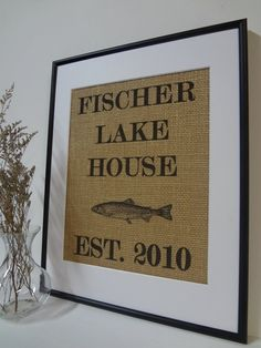lake house sign on natural by tried it bought this on etsy as