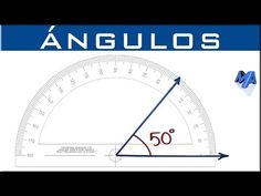 Qué es y como dibujar un ángulo - YouTube