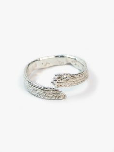 MACHA: Foxtail Wrap Ring. $195 #mensjewelry #gifts #giftsforhim #statementrings #goldrings #rings #14kgoldjewelry #unusualrings #texturedrings #giftsformen #giftsforwomen #wraprings #womensjewelry #mensjewlery #unisexjewelry #fashion #statementjewelry