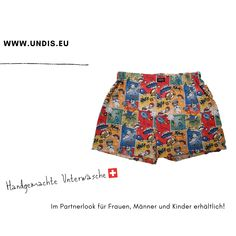 UNDIS www.undis.eu Bunte, lustige und witzige Boxershorts & Unterwäsche für Männer, Frauen und Kinder. Ein tolles Geschenk für den Vatertag, Muttertag oder Geburtstag! Partnerlook für Herren, Damen und Kinder. online bestellen unter www.undis.eu #geschenkideenfürkinder #geschenkefürkinder #geschenkset #geschenkideenfürfrauen #geschenkefürmänner #geschenkbox #geschenkidee #shopping #familie #diy #gift #children #sewing #handmade #männerboxershorts #damenunterwäsche #schweiz #österreich #undis Boho Shorts, Casual Shorts, Mama Blogger, Swimwear, Fashion, Gift Ideas For Women, Men's Boxer Briefs, Gifts For Children, Great Gifts