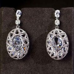 Zircon Earring & Necklace Set JHZ-254 USD69.31, Click photo to know how to buy / Contact me for discount, follow board for more inspiration