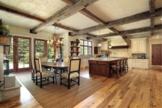 Attaining the Perfect Mix Between #Rustic and #Modern #Interiors