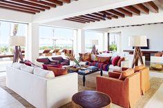 =Cindy Crawford / A white-hot Baja peninsula retreat, designed by Ricardo Legoretta, Los Cabos, Mexico.