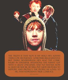 Just in case anyone forgot why Ron is so awesome, Rupert Grint can remind you.
