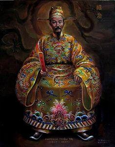 THIỆU TRỊ - Chân Dung Các Vua Triều Nguyễn