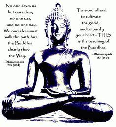 Buddhist teachings, sayings