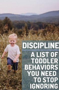 Examples of Toddler Behaviors that need your attention and correction. Don't keep ignoring behaviors thinking they'll go away! Instead, start correcting them with teaching and thoughtful discipline! Including How to make a plan that works for your family! #toddler #toddlerdiscipline #discipline #baby #tantrums #terribletwos #momlife #mom #momhacks Toddler Behavior, Toddler Discipline, Toddler Age, Terrible Twos, Make A Plan, Behavior Management, How To Know, Baby Love, Baby Tantrums