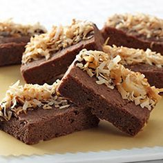 chocolate coconut brownie bars; http://www.ghirardelli.com/recipes-tips/recipes