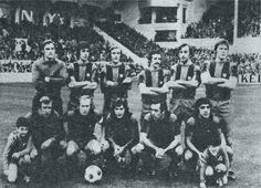 Equipos de fútbol: BARCELONA contra Real Sociedad 07/12/1975
