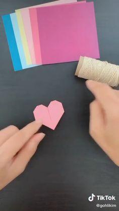 Diy Crafts Hacks, Diy Crafts For Gifts, Diy Home Crafts, Creative Crafts, Crafts For Kids, Cool Paper Crafts, Paper Flowers Craft, Paper Crafts Origami, Diy Flowers