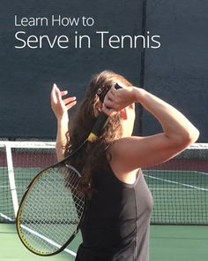 Learn how to improve your tennis serve! Find out where to stand, how to grip the handle, and discover the four basic steps of how to swing your racket.