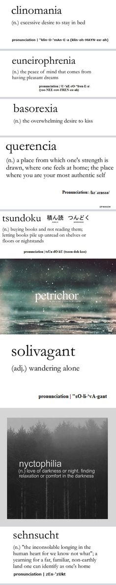 http://www.pinterest.com/lilyslibrary/ Some of the best words of the English language...