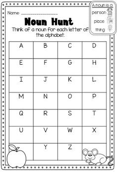 Improper Fractions And Mixed Numbers Worksheet Word Nouns Test For St Graders  Goes Over Various Types Of Nouns  Conversion Challenge Worksheet Answers Pdf with Ad Word Family Worksheets Noun Printable Worksheet Huge Noun Pack For Kindergarten First Grade And  Second Grade Printable Worksheets For Kindergarten Sight Words