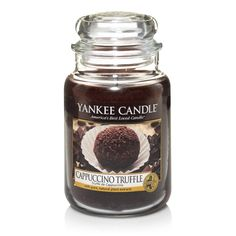 Yankee Candle - CAPPUCCINO TRUFFLE.  Oh my goodness.  This fragrance is for all you coffee lovers out there!  It brings together the rich aroma of freshly ground coffee beans, and the adorable sweet, velvety chocolate - lush :-)