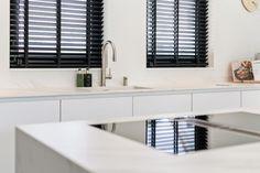 Tessa en Sebastian   Van der Voet Keukens Double Vanity, Bathroom, Modern, Washroom, Trendy Tree, Full Bath, Bath, Bathrooms, Double Sink Vanity