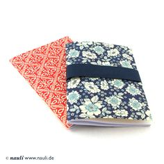 2 pocket size cahier with Italian patterned paper. €5,20, via Etsy.