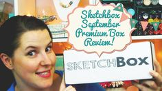 A video unboxing and review of our September Premium Box! Coloring Books, Coloring Pages, Sketch Box, Cool Art, Awesome Art, Artsy Fartsy, Gifts For Kids, Art Photography, September