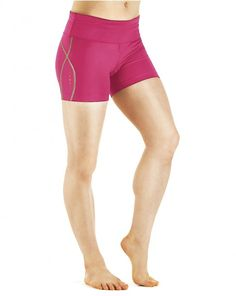 eb01f063aa Women's Performance Compression Fold Over Shorts Lactic Acid Build Up,  Compression Shorts, Compression Clothing