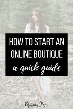 How to start an online boutique - A quick guide and checklist of what you need before you launch