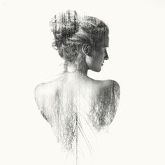 ARTFINDER: Judith II by Laurence Winram - part of my exhibited double exposure nudes Shadow series Creative Photography, Art Photography, Double Exposition, Double Exposure Photography, Photo Portrait, Multiple Exposure, Design Graphique, Photo Manipulation, New Art