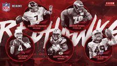 Miami Football Graphics - Miscellaneous on Behance
