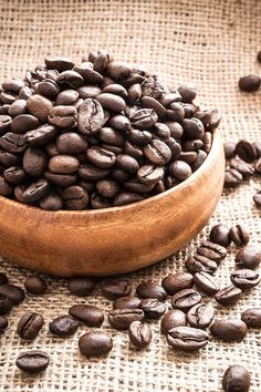 Large Wall Art  Coffee Beans Macro Food by AmyRothPhoto on Etsy