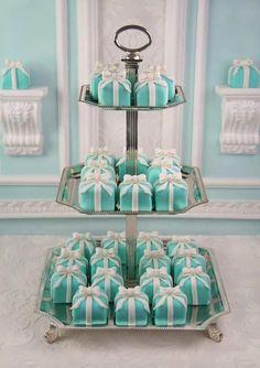 Bridal shower petit fours!