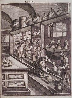 Alchemists Lab - Before Steampunk but insiring