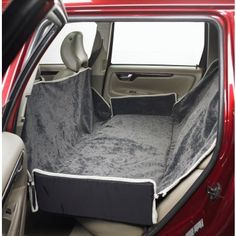 Luxurious microvelvet fabrics with rugged nylon backing.  Slits in bottom seat cushion allow use with seat belt - See more at: http://www.bowsers.com/outdoor-travel/padded-seat-covers/hammock-seat-cover-thunder.html#sthash.A0rLQeBz.dpuf