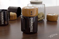 Ponerse las pilas tomando café - Descripción grafica! jajaja