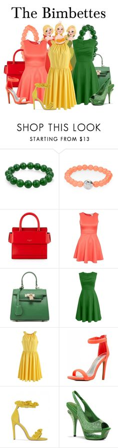 """""""The Bimbettes"""" by megan-vanwinkle ❤ liked on Polyvore featuring Bling Jewelry, Anzie, Givenchy, Chicwish, Qupid, Pleaser and polyvoreeditorial"""
