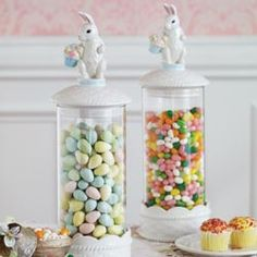 Easter Candy Canisters