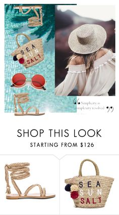"""Beach Fun"" by kristipotter ❤ liked on Polyvore featuring Sundry"