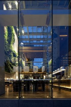 Green Restaurant in Hong Kong by CL3 Architects
