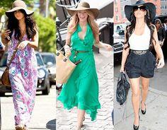 Blake Lively Style: Summer sun hats