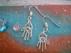 hand earrings [Etsy: InstinctiveDrift]