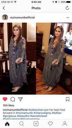 Rozina Muneeb Latest Pakistani Dresses, Pakistani Fashion Party Wear, Indian Gowns Dresses, Pakistani Outfits, Stylish Dress Book, Stylish Dress Designs, Stylish Dresses, Fashion Dresses, Designer Gowns