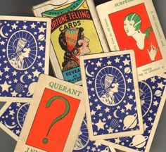 1920s Fortune Telling Cards